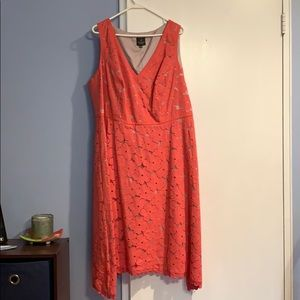 Women's Adrianna Papell Coral Lace Dress